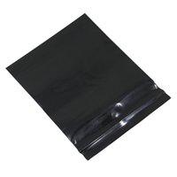 Wholesale Mini Wood Pieces - 5000 Pieces 4cm*5cm Mini Black Ziplock Plastic Package Bags Grip Seal Reclosable Plastic Zipper Bag Wholesale For Small Gift