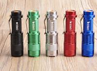 arduino erweiterungskarten groihandel-Blitzlicht CREE Q5 LED Outdoor Indoor Camping Taschenlampe Elektrische Taschenlampe Einstellbarer Fokus Zoom Wasserdichte Taschenlampen Lampe Portable