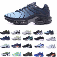 Wholesale mint drop - Drop Shipping TN Air Shoes Mens Running Shoes Air TN Plus Ultra Shoes Sports TN Requin Sneakers 40-46