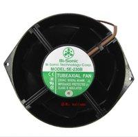 Wholesale fan 230v resale online - Original axial fan E B MM HZ W heat dissipation of V control cabinet