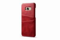 piel genuina al por mayor-Para Samsung Galaxy S8 Funda de cuero genuino de la PU del teléfono cubierta trasera para Samsung S8 Plus Funda Plus Samsung S8 cubierta de piel de Shell 2017 Nuevo