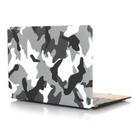 Wholesale Apple Laptop Hard Keyboard Covers - 2 in 1 Macbook Protect Case Distinctive Camouflage Printing Plastic Hard Cover for Apple MacBook Air 12 inch Case +Keyboard Cover