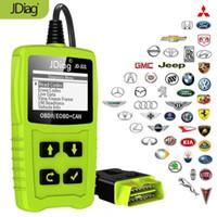 herramienta de diagnóstico renault puede recortar al por mayor-JDiag JD101 Lectores de códigos Herramienta de escaneo del motor Revisar la luz del motor Herramienta de diagnóstico de automóvil OBD2 Escáner Automotriz con prueba de batería