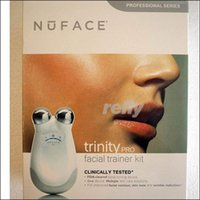 Wholesale pro skin care - Nuface Trinity Pro Big Package Facial Trainer Kit Skin Care Tool DHL Shipping