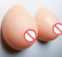 silikon protez oluştur toptan satış-Sol Ve Sağ Tarafı Toplayın Silikon Sahte Yanlış Meme çapraz dresser stransgender için silikon meme formu silikon meme göğüs protezi