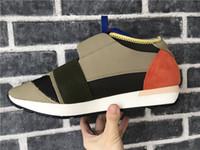 tasarımcı parti elbiseleri satışı toptan satış-2018 Kadın Erkek Tasarımcı Sneakers Ayakkabı Hafif Sneakers Deri Konfor Rahat Parti Elbise Satışa Moda Ayakkabı