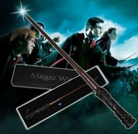 Wholesale harry potter wands led for sale - Group buy LED Harry Potter Magic Wand Light Up Hermione Voldermort Magic Wands Halloween Cosplay Magic Wand Gift In Box design