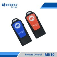 Wholesale Benro Tripods - Benro MK10 Remote Control For Tripod Monopod Selfie Stick Wireless Bluetooth Remote Controller Rechargeable Free Shipping