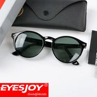 Wholesale Fashion Drivers - Vintage Retro Brand Sunglasses Designer Pilot Driver Mens Sunglasses Fashion Points Women Gafas de sol Mujer