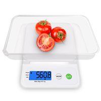 küchenwaagen gewichte großhandel-Küchenwaage Gewicht LCD-Display genau Tragbare LCD Digital Elektronische Digital Taschenwaage Schmuck Gewicht Elektronische Waage