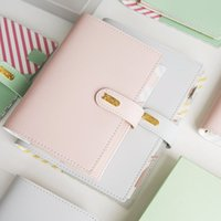 Wholesale weekly planners - 2018 Yiwi Macaron Cute Spiral Notebooks Stationery,Fine Office School Personal Agenda Organizer binder Diary Weekly Planner