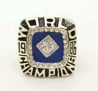 Wholesale 24k white gold rings - Dorp Shipping 1986 New York Mets Baseball Zinc Alloy 24K gold Custom Sports World Championship Rings for Fans
