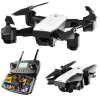 quadcopter kamera gps großhandel-SMRC S20 Gyro Mini GPS RC Drohne Mit 110 Grad Weitwinkelkamera 6 Achsen 2,4G Höhe Halten RC Quadcopter Tragbares Modell ABS