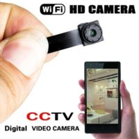 Wholesale digital wireless pinhole camera for sale - Wireless Hidden Cam WIFI IP Pinhole Digital Video Camera Mini Micro DVR