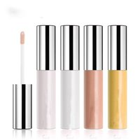 шелковые мерцающие оптовых-Face  Shimmer Highlighter Liquid Waterproof Brighten Contour Highlight Transparent Silk Texture Soft Smooth Facial Eye