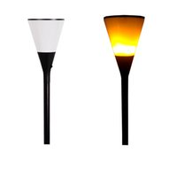 ingrosso decorazioni giardino recinto-Beer Cup Impermeabile Solar Powered LED Wall Light per Outdoor Garden Garden Yard Lawn Fence Deck Illuminazione del tetto Decorazione