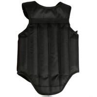 Wholesale muay thai guard - Red Black Chest Guard Taekwondo Sanda Protector Kick boxing Karate Muay Thai Chest guard Reversible Body Vest Shields Protection