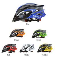 évents extérieurs achat en gros de-Lixada 25 Vents Ultralight EPS Cyclisme Casque Sports de Plein Air Vtt / Route Vélo de Montagne Casque de Vélo Réglable Casque de Patinage