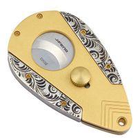 Wholesale super scissors for sale – custom High end Dual Blades Super Sharp Cigar Cutter Cigar Guillotine Scissors