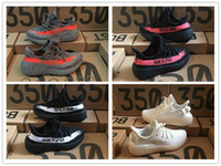 Wholesale baby winter body - Fashion best Baby Kids Run Shoes Kanye West SPLY 350 Running Shoes Boost V2 Children Athletic Shoes Boys Girls Beluga 2.0 Sneakers