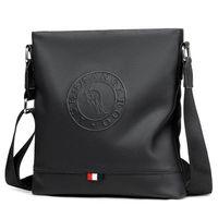 känguru mann taschen großhandel-KANGAROO Marke Rindsleder Männer Messenger Bags Männlich Solide Schultertasche Mode Umhängetasche Für Männer Leder Handtasche Reisetasche