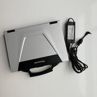 mb star mitsubishi venda por atacado-Cd52 toughbook usado carro diagnóstico laptop ram 4g touch screen sem hdd funciona mb estrela c4 c5 para bmw icom