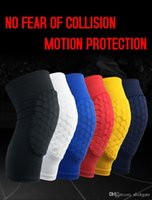de62a95d24 Wholesale basketball compression leg sleeves for sale - Group buy  Compression Kneepads For Adult Antislip Honeycomb
