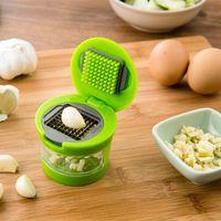 cortador de ralador de cortador de fatias venda por atacado-Utensílios de cozinha Mini Alho Chopper Prensas Garlic Mincer Slicer Dicer Grater
