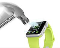ingrosso schermo di pellicola reale di vetro temperato reale premium-Pellicola proteggi schermo in vetro temprato proteggi schermo temperato per Apple Watch 42mm 9H 2.5D