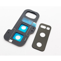Wholesale note lens cover resale online - New Back Rear Camera Lens Glass Cover with Frame Holder For Samsung Galaxy Note N950 N950F Replacement Parts