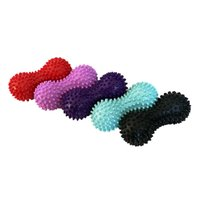 Wholesale green health care online - Health Care Massage Ball Spiky Trigger Point Relief Muscle Reusable Fitness Colorful Pain Plantar Stress Peanut Balls Sports bn jj