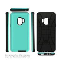 Wholesale black oil paint - For Samsung S9 S8 Plus J7 J3 Prime Leather Paint oil Phone Cases For Iphone 6 7 8 X Aomor Phone Case