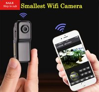 Wholesale hd secret camera - Smarcent MD81S Mini Camera Wifi IP P2P Wireless Camera Secret Recording CCTV Android iOS Camcorder Video Espia Nanny Candid