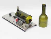 schnittflasche großhandel-Edelstahl-Glasflaschenschneider Bier Weinflaschenschneidwerkzeuge, Glaswerkzeuge