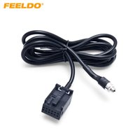 ingrosso cd player-FEELDO Car Radio CD Player Aux Aux Audio Cable per Ford Focus 2 MK2 Ford Mondeo Aadpter Wire # 1406