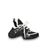ingrosso pizzo d'argento nero-2018 Basket Archlight Sneakers Chaussures Argento argento nero Monogram Lace Up Flat Trainer Sci-Fi Sneakers con scatola originale