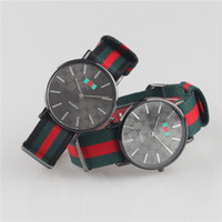 Wholesale Men Watches New Arrivals Brand Quartz Watch Luxury Casual Man Wristwatches MM Black Face Colorful Nylon Clock Military Watches