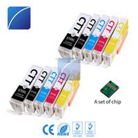 Wholesale Compatible Ink Cartridges - 10 PCS Ink Cartridges PGI570XL CLI571XL Compatible for Canon PGI-570 CLI-571 PGI570 CLI571 Pixma Set MG5753 MG5750 MG5751 MG5752Printer