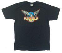 imágenes de camisetas de cuello v al por mayor-Van Halen Eagle Image Tour 2004 EE.UU. CDN camiseta negra Nuevo oficial NWT Tops Summer Cool camiseta divertida Novedad O-Neck Tops