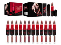 Wholesale good quality lipsticks for sale - New Brand VIVA GLAM makeup SIA matte lipstick color good quality Black box DHL shipping