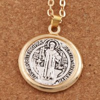 Wholesale Medal Saint Benedict for Resale - Group Buy Cheap Medal