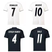 8dd2a064dd3 Thai 18 19 real madrid soccer jerseys ASENSIO football shirt 2018 2019  BENZEMA RONALDO jersey camisas de futebol Big Size XXL XXXL XXXXL