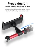ipad mini автомобильные крепления оптовых-Автомобильный телефон держатель планшета стенд заднее сиденье автомобиля подголовник кронштейн для iPhone X 8 iPad Mini Tablet 4-11 дюймов