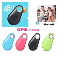 Wholesale Wireless Bluetooth Anti Lost GPS Tracker Alarm iTag Key Finder Voice Recording Selfie Shutter For ios Android Smartphone with Retail Box