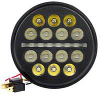 """ingrosso indicatori di proiettile moto-5-3 / 4 5.75 LED faro DRL per proiettore faro moto guida 5 3/4 """"per faro"""