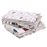 ingrosso tessuti di trapuntatura-Cartoon Cat Animal Tessuto in cotone Fai da te Cucito Craft Patchwork Quilting Cuscino Abbigliamento Lavoro manuale Kids Home Textile Cloth Tissus