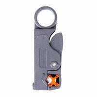 koaxiale kabelschneiderabstreifer großhandel-Rotary Koaxialkabelschneider Automatische Abisolierzange Abisolierzange Messer für Kabel mit 4/6/8 / 12mm Durchmesser