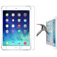 gehärteter bildschirm ipad luft großhandel-9H Premium gehärtetes Glas Displayschutzfolie für neue iPad Pro 2018 11 12.9 2017 2 3 4 5 6 Air Air2 MINI4 Pro 9.7 10.5 KEIN Paket