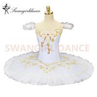 erwachsene schwan kostüm großhandel-Weißer Schwan-klassisches Ballett-Ballettröckchen-Frauen-Berufsballett-Ballettröckchen für erwachsenes klassisches Ballett-Stadiums-Kostüm KidsBT8962