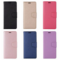 Wholesale samsung note purse - PU Leather Wallet Case For Galaxy S9 Plus S8 Note J4 J6 J3 J5 J7 J2 Pro Europe Silk Flip Cover Card Slot Magnetic Purse Frame Photo